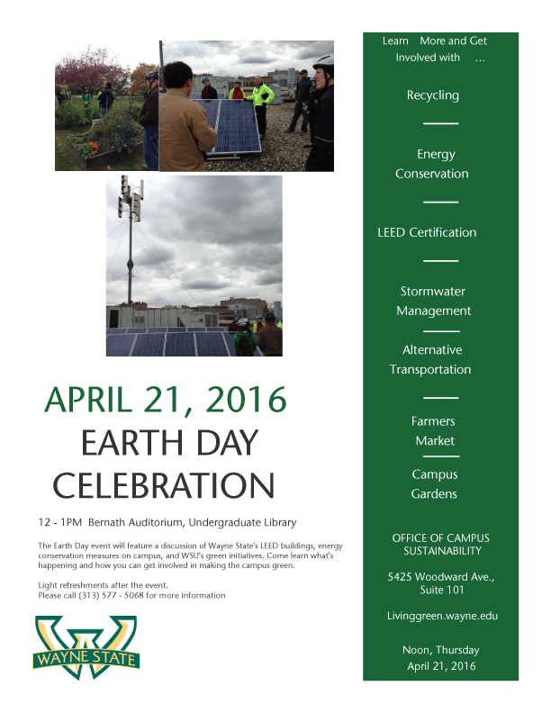 2016 Earth Day Flyer