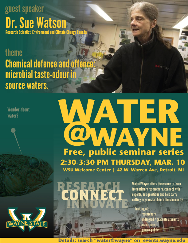 Dr. Sue Watson - Water at Wayne March 10