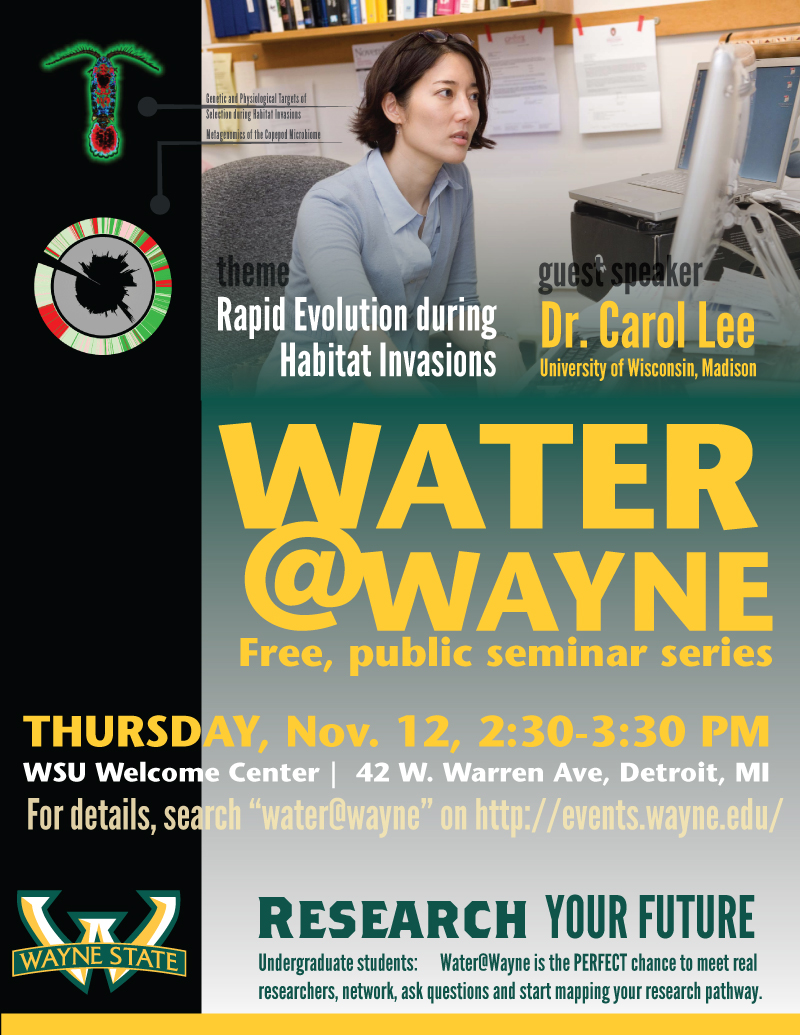 Dr. Carol Lee University of Wisconsin Water at Wayne water@wayne